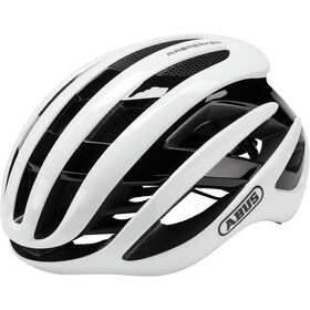 ABUS AirBreaker Kask rowerowy, polar white